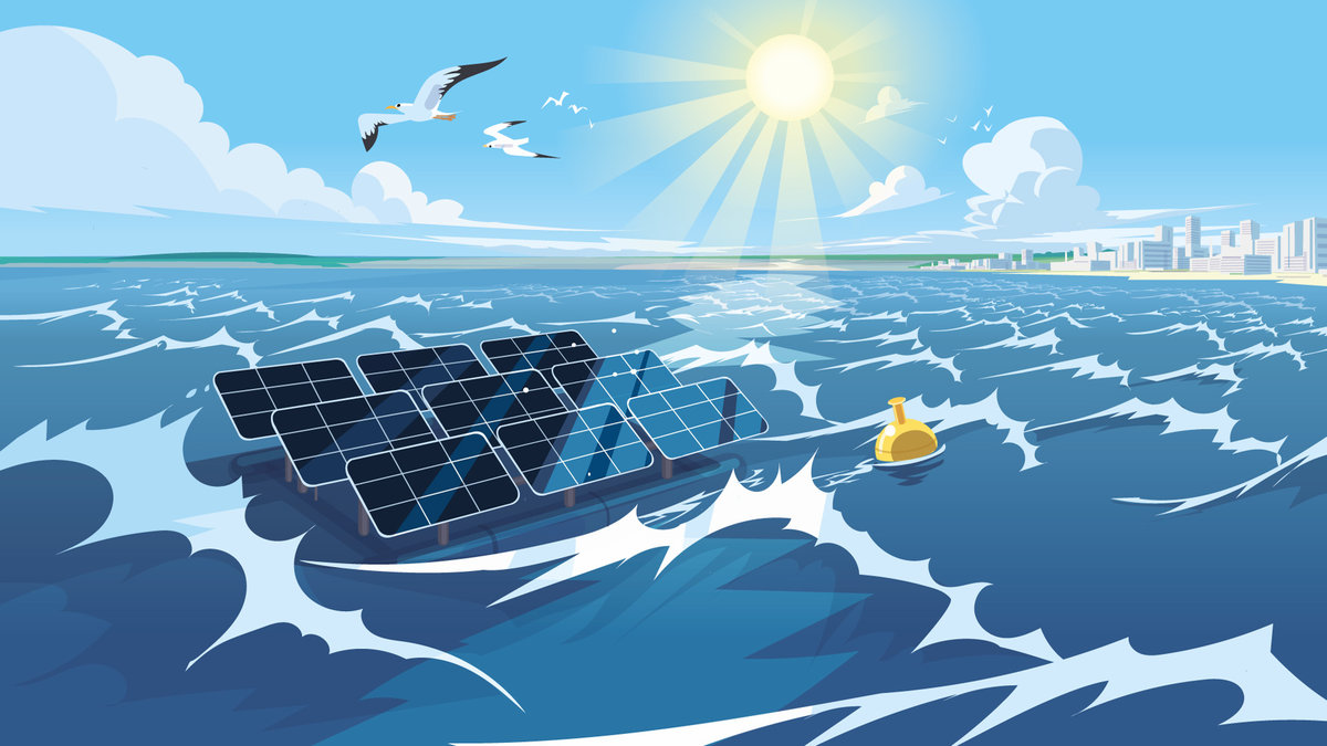 High Wave Offshore Solar Panels Soon A Reality Tractebel